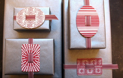 Gift Wrap - Variations by Gift Tag